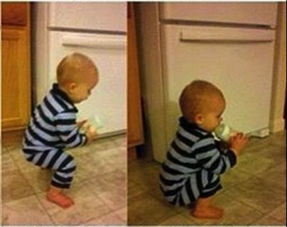 baby-kniebeugen