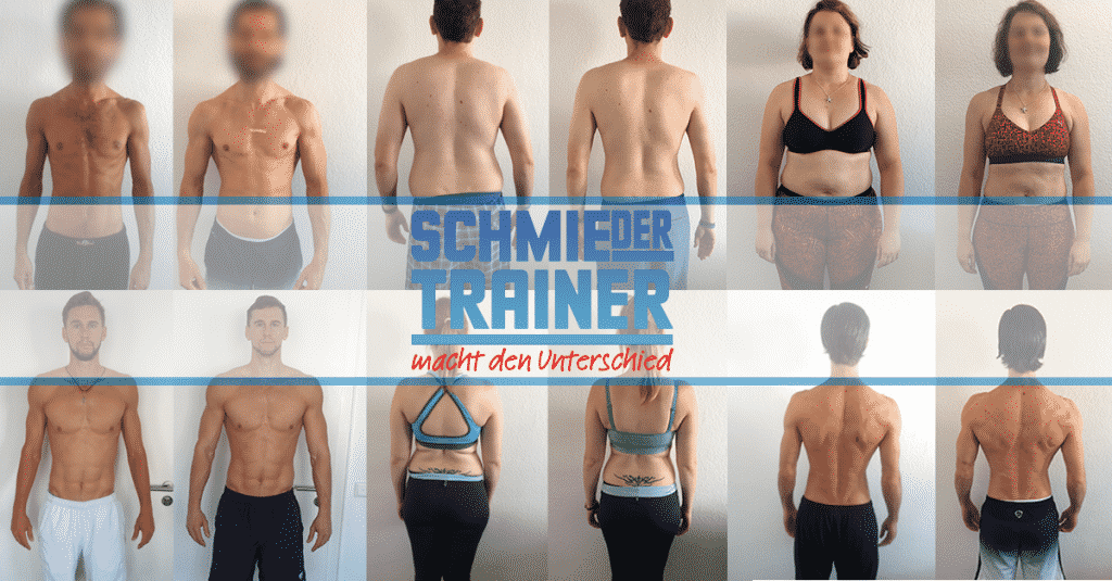Collage SchmieDer Trainer | Promotion Personal Training 2018